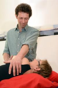 Massage und Release-Techniken